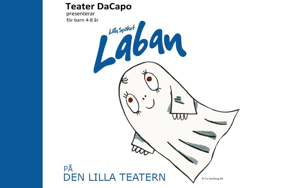 Lilla Spöket Laban (dekorativ bild av spöket Laban)