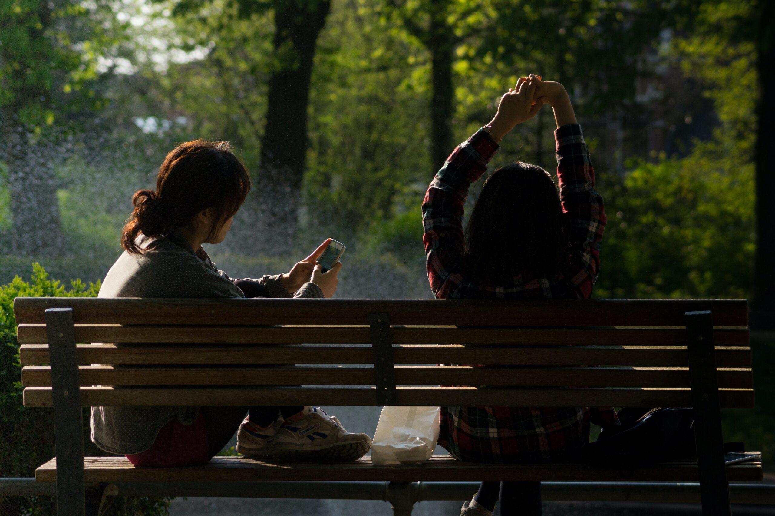 Qigong i Botaniska trädgården (dekorativ bild)