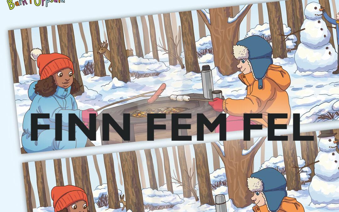 Klurigheter – finn fem fel- vinter